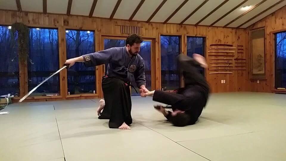 Weapons Training Sword Lehigh Fukasa-Kai Martial Arts
